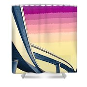 Overpass One Shower Curtain