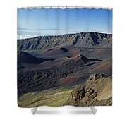 Overview Of Haleakala Cra Shower Curtain