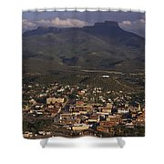 Overview Of Town Of Trinidad Shower Curtain