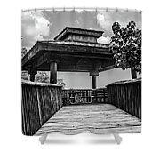 Overview Stop Shower Curtain