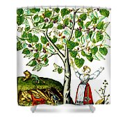Ovids Pyramus And Thisbe Myth Shower Curtain