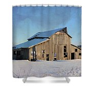 Owasa Barn 4 Shower Curtain