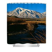 Owens River Valley Bishop Ca Shower Curtain