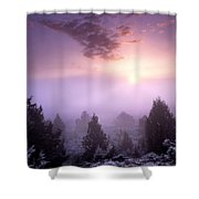 Owhyee Canyonlands Shower Curtain