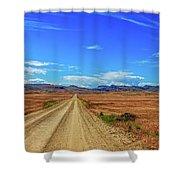 Owhyee Desert Shower Curtain