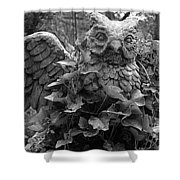Owl And Ivy Shower Curtain