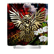 Owl In Flightcollectioni Shower Curtain
