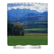 Owl Pass Uncompahgre National Forest Co Shower Curtain