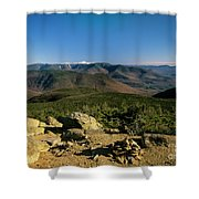 Owls Head - Pemigewasset Wilderness New Hampshire Shower Curtain
