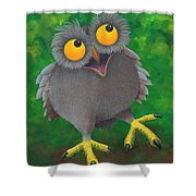 Owlvin Shower Curtain