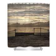 Owner Of A Lonely Heart - In Memory Of Chris Squire  Shower Curtain