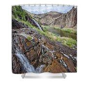 Owyhee River 1 Shower Curtain