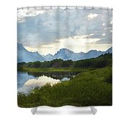 Oxbow Bend 13d Shower Curtain