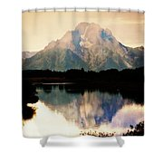 Oxbow Bend 14 Shower Curtain