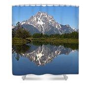 Oxbow Grand Teton Shower Curtain