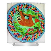 Oxcart 7 Shower Curtain