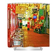 Oxford Covered Market Hdr Shower Curtain