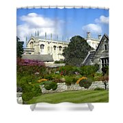 Oxford England Shower Curtain