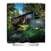 Oxford Pennsylvania Bridge Shower Curtain