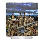 Oxford University - All Souls College Shower Curtain by Yhun Suarez