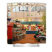 Oxford's Covered Market Shower Curtain