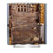 Oxidation Shower Curtain