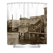 Oxnard Cannery Cannery Row 1977 Shower Curtain