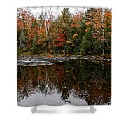 Oxtongue Shoreline Shower Curtain