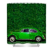 Oyama Bug Shower Curtain