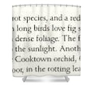 Oz Agls040 Tony Oliver 95 Double-eyed Fig Parrot Note Tony Oliver Shower Curtain