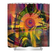 Oz And Poppies Shower Curtain