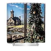 Ozark Christmas  Shower Curtain