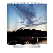 Ozark Sunrise 6 Shower Curtain