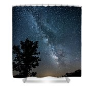 Ozarks Milky Way Shower Curtain