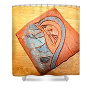 Ozukusee - Tile Shower Curtain