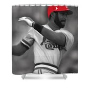 Ozzie Smith Shower Curtain