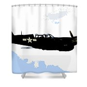 P 40 Shower Curtain