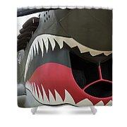 P-40 Warhawk - 2 Shower Curtain