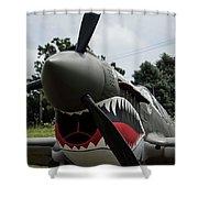 P - 40 Warhawk - 5 Shower Curtain