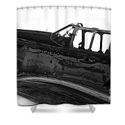 P 51 C Shower Curtain