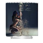P O L E - D A N C E R  Shower Curtain