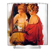 p rarmstrong 026 Rolf Armstrong Shower Curtain