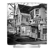 P-town Lobster Pot Shower Curtain