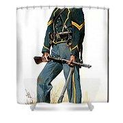 p-troiani020 Don Troiani Shower Curtain