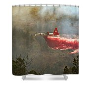 P2v In Ferguson Canyon Shower Curtain