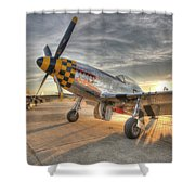 P51d Kimberely Kay And Comfortably Numb At Hollister Shower Curtain