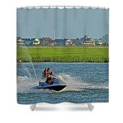 P8038801 Jet Skis Shower Curtain