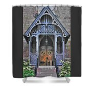 Pa Country Churches - Coleman Memorial Chapel Exterior - Near Brickerville, Lancaster County Shower Curtain