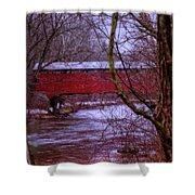 Pa Covered Bridge Shower Curtain
