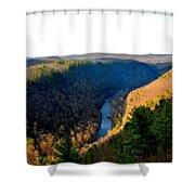 Pa Grand Canyon-pine Creek Shower Curtain